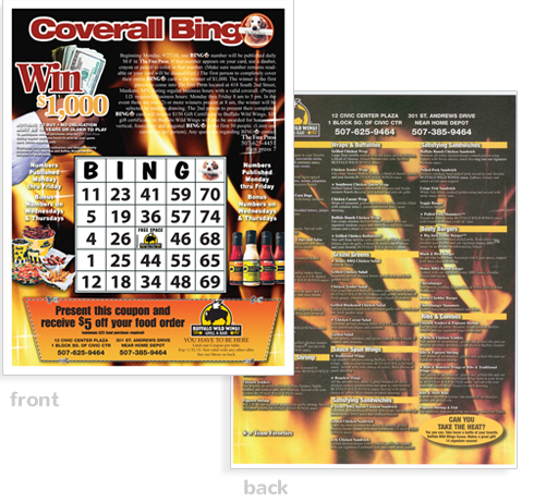 FreePress Coverall Bingo