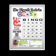 The Herald Bulletin Coverall Bingo